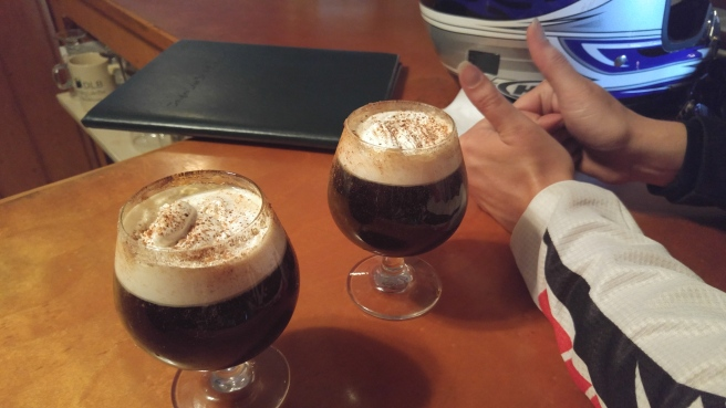 Spanish Coffees at Douglas Lake Inn